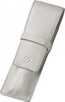 S.T. Dupont Liberté 2 Pen Case – Grained White Leather 92022
