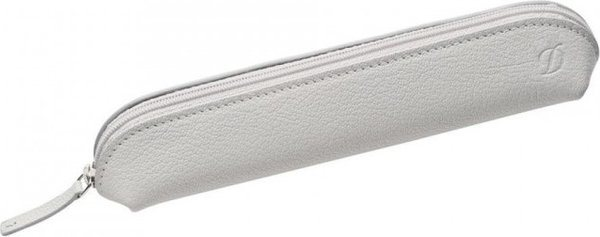 S.T. Dupont Liberté 2/3 Pen Case – Grained White Leather  92023