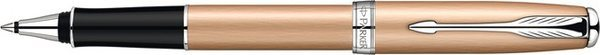Parker Sonnet Penna Roller Oro Rosa/ Trama Placcata-Palladio